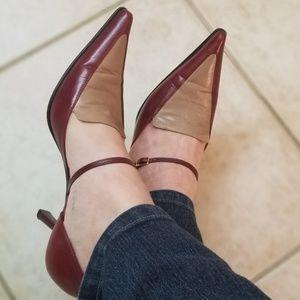 Gorgeous Mario Valentino leather heels